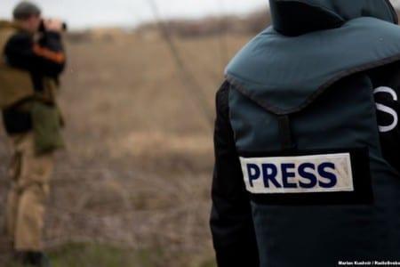 """Тренінг """"Особливості висвітлення в ЗМІ військового конфлікту"""" у Запоріжжі"""